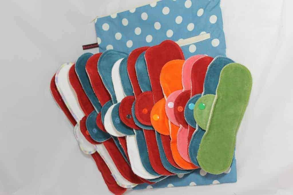Cloth pads after birth