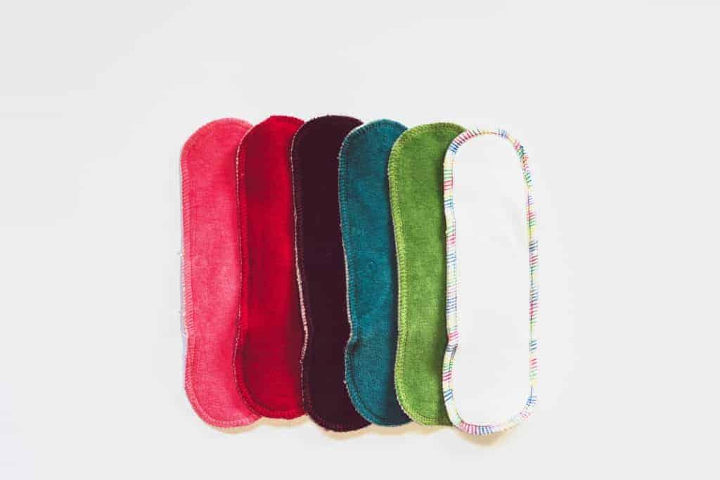 Cloth pads of organic cotton