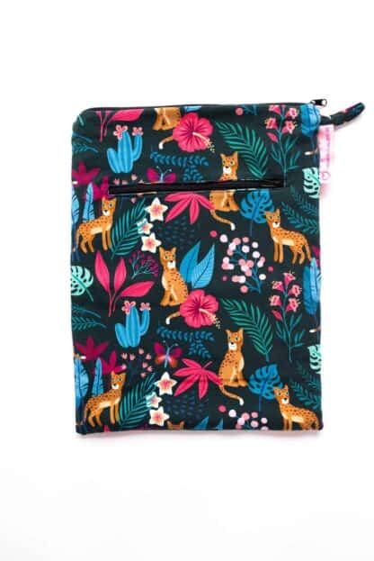 Wetbag L mit Dschungel-Muster