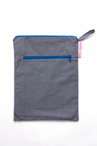 Wetbag L in Jeansblau